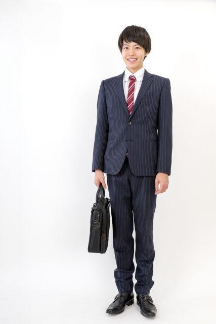 メンズ/新入学・リクルート・フレッシャーズスーツ ブラック・ネイビー