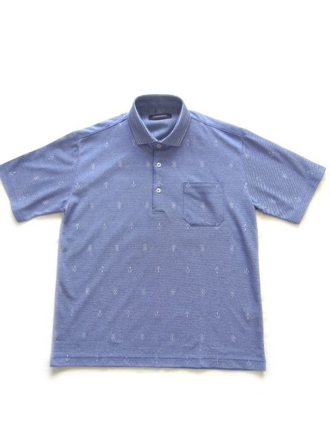 MADE IN JAPAN/軽量・清涼・美濃和紙糸仕様/ポロシャツM~LL