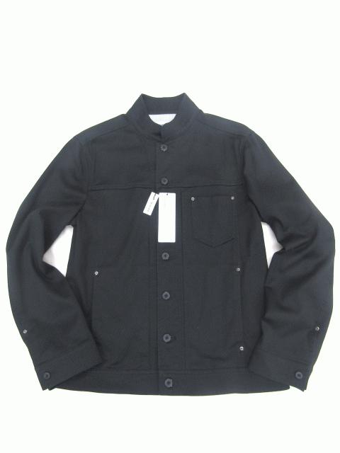 ストレッチ/ショートブルゾン/ブラック