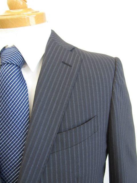 RINASCITA/2パンツスーツ/グレーストライプ