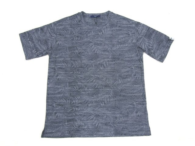 速乾日本製半袖ジャガードクルーネックTシャツ
