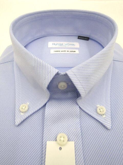 消臭・制菌/MUSHONハイブリットセンサー/ポリエステルニットYシャツ